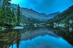 Mills Lake Colorado Stock Image