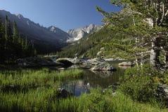 Mills See in den Kolorado-felsigen Bergen Lizenzfreies Stockbild