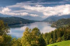 Millstättersee lake Millstatt Austria Royalty Free Stock Photo