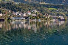 Millstatt湖  免版税图库摄影
