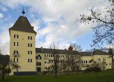 Millstatt abbotskloster Royaltyfria Foton