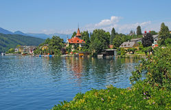 Millstatt,Lake Millstatt,Austria Royalty Free Stock Images