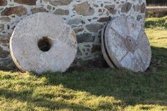 Millstones γρανίτη Στοκ φωτογραφία με δικαίωμα ελεύθερης χρήσης