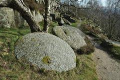 millstones gromadzki szczyt Obrazy Royalty Free