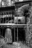 Millworks au moulin de Roswell Image stock