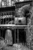 Millworks en el molino de Roswell Imagen de archivo