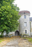 Milly-la-Foret - замок Стоковая Фотография