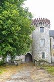Milly-la-Foret - slott Arkivbild