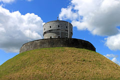 Milmount Drogheda. The historic Milmount fort in Drogheda, County Louth, Ireland Royalty Free Stock Images