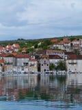 Milna on the island Brac in the Mediterranean Stock Photo