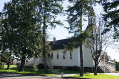 Milner Chapel in Langley British Columbia Stock Photos