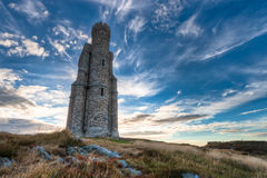 Milner's Tower and dramatic sky Royalty Free Stock Photos
