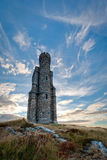 Milner's Tower and dramatic sky portrait composition Stock Photos