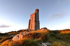 Milner Tower on Brada Head, Isle of Man, UK Royalty Free Stock Photography