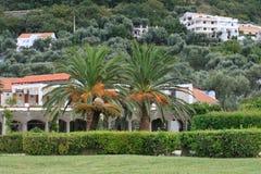 Milocher city in Montenegro. Kings Park Royalty Free Stock Image