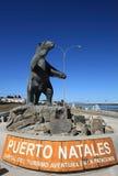 Milodon statua, Puerto Natales Zdjęcie Royalty Free