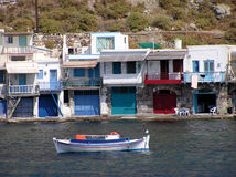 milos острова Греции Стоковая Фотография