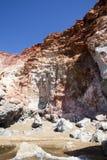Milos остров, Киклады Стоковое фото RF