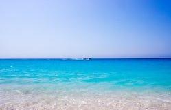 Milos Beach, Lefkada, Grécia imagens de stock