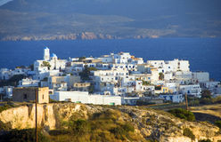 Milos Greek island Cyclades architecture Stock Image