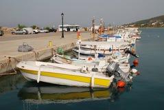 Milos harbour, Agistri Royalty Free Stock Image