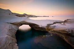 Milos island. Stock Photos
