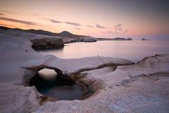 Milos island. Royalty Free Stock Photography