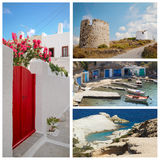 Milos island Stock Photos