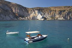 Milos island, Greece Royalty Free Stock Photo