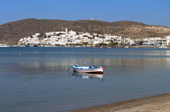 Milos island in Greece Stock Image