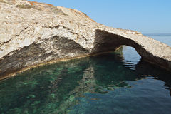 Milos island in Greece Stock Photos