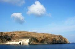 Milos island shore Stock Image