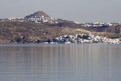Milos Island Towns Royalty Free Stock Image