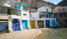 Milos island Stock Images