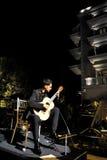 Milos Karadaglic an der Öffnung des Regenten Hotels Stockfotografie