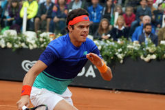 Milos Raonic (CAN) Royalty Free Stock Photos