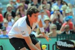 Milos Raonic - tenis Foto de archivo