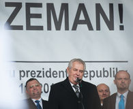 Milos Zeman, Мартин Konvicka, Marek Cernoch Стоковое Фото