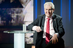 Milos Zeman Stock Photos