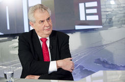 Milos Zeman Royalty Free Stock Photos