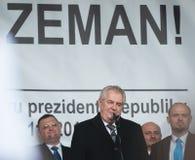 Milos Zeman, Martin Konvicka, Marek Cernoch Stock Photo