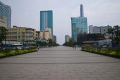 Milowy spacer Ho Chi Minh Fotografia Royalty Free
