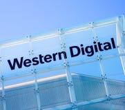 Milpitas, CA, los E.E.U.U. - 21 de mayo de 2018: Edificio de una oficina de la sociedad de Western Digital WDC Fotos de archivo libres de regalías