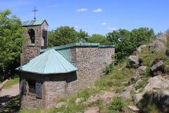 Milseburg chapel Stock Image