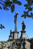 Milseburg crucifix Stock Images