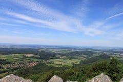 Milseburg utsikt Royaltyfria Bilder