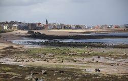 Milsey海湾海滩 免版税库存照片
