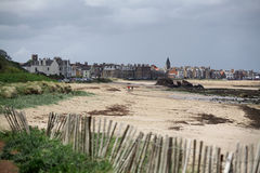 Milsey海湾海滩 免版税库存图片