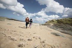 Milsey海湾海滩 图库摄影
