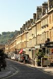 Milsom St,巴恩,英国,英国 免版税库存图片